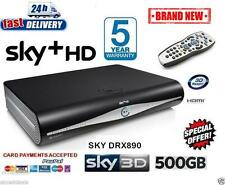 SKY HD BOX PLUS + HD BOX - 500GB - SKY AMSTRAD DRX890 BRAND NEW