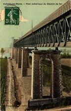 CPA Cubzac-les-Ponts-Pont métallique du Chemin de fer(176687)