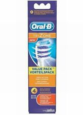 BRAUN ORAL B TRIZONE REPLACEMENT TOOTHBRUSH HEADS X 4   BRAND NEW & SEALED