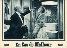 JEAN GABIN  EDWIGE FEUILLERE EN CAS DE MALHEUR 1958 PHOTO D'EXPLOITATION #6