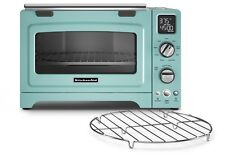KitchenAid KCO275AQ Convection 1800-watt Digital Countertop Oven, 12-Inch, Aqua