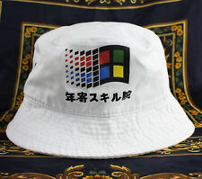 Windows japonais chapeau vaporwave cloud rap 6 panel new