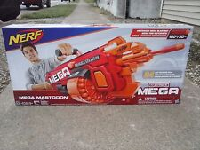 NEW MEGA NERF MASTODON DART GUN motorized, hold 24 darts, fires 100 feet