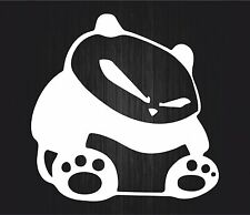Sticker decal vinyl car laptop macbook JDM panda white drift tuning