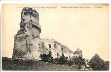 CP 63 - Puy-de-Dôme - Tournoël - Les Ruines du Château