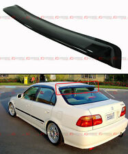 1996-2000 HONDA CIVIC 4 DR SEDAN JDM SMOKE TINTED REAR ROOF AERO WINDOW VISOR