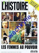 L'histoire n°160 - 11/1992 Les femmes au pouvoir Féminisme