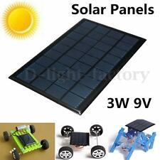 3W 9V Epoxy Monocrystalline Solar Panels Welded Cable For Low-power Appliances