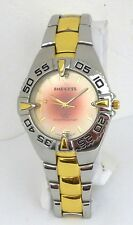 Impress Men's Two-tone Watch With Rotating Bezel & Water Resistant 3atm
