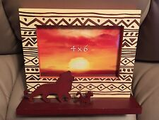 RARE Disney Lion King Silhouette 4 x 6 Picture Frame