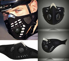 Anti Dust Motorcycle Bicycle Bike Half Face Mask Filter Durable Neoprene