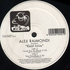 ALEX RAIMONDI - Real Love - Ma-Music