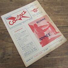RADIO CONTACT NUMERO 19 DECEMBRE 1952