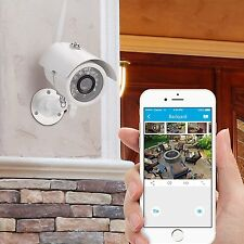 Home Wireless Security Video Camera System Surveillance 720 HD Night Vision App