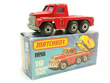 Matchbox Lesney Superfast MB19 Cement Truck Boxed