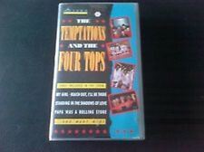 VHS  The Temptations & The Four Tops