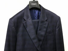 Paul Smith Navy Blue Tonic Suit PRINCE OF WALES CHECK MARYLEBONE UK40R RRP £985