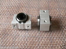 SCV8UU SC8VUU CNC Linear Cylinder Ball Bearing Pellow Block House with LM8UU