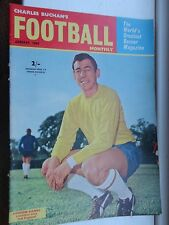 charles Buchan's Football monthly 1964 Jan no149 burnley