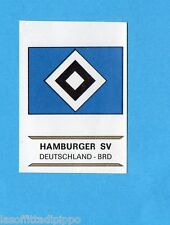 FOOTBALL CLUBS-PANINI 1975-Figurina n.75- HAMBURGER SV-GERMANIA BRD-SCUDETTO-Rec