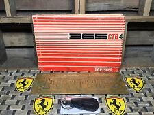 FERRARI 365 GTB4 SPARE PARTS + REVISION & SUPPLEMENT 69 70 71 +BONUS GTB 4 BRASS