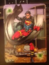DC Overpower IQ Strength Level 6 Power Card Superboy X2 Mint