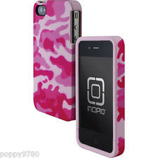 Incipio Edge Two-Piece Hard Shell Case iPhone 4/4S Pink Camo Relail Packaging