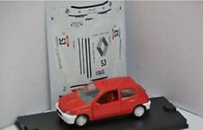 VEREM 749 RENAULT CLIO diecast model rally car 1991 racing number 53 1:43rd