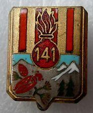 Insigne boutonnière 1939 114° RIA Régiment Infanterie Alpine ORIGINAL WWII argté