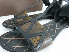 LOUIS VUITTON FLAT SHOES SANDAL 2014 39 FR UK 6 US 7 7,5 + DUST BAG SAC BOX