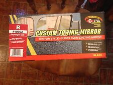 Custom Towing Mirror Black R #10902 Passager Side
