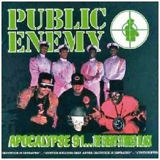 PUBLIC ENEMY - APOCALYPSE 91-THE ENEMY STRIKES BACK  CD  14 TRACKS HIP HOP  NEU