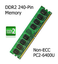 4GB Kit DDR2 Memory Upgrade Gigabyte GA-945PL-S3P Motherboard Non-ECC PC2-6400U