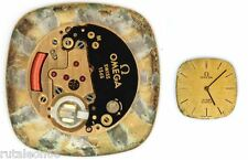 OMEGA  1365  original quartz watch movement  for parts / repair  (4212)