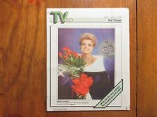 June-1989 Minneapolis Star Tribune TV Week Mag(ANGELA LANSBURY/MURDER SHE WROTE)