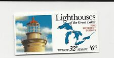 United States Sc.#BK230 Lighthouses of The Great Lakes Cat. $25.00 (LR211)