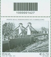 1627 CODICE A BARRE SOPRA PONTE REAL FERDINANDO SUL GARIGLIANO 0,70 ANNO 2014