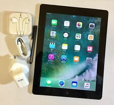 EXCELLENT Apple iPad 4th Generation 16GB, Wi-Fi + 4G (EE), 9.7in -black + EXTRAS