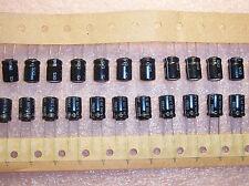 QTY (48) 47uf 63V 105' RADIAL ALUMINUM ELECTROLYTIC CAPACITORS EKS47/63 FROLYT