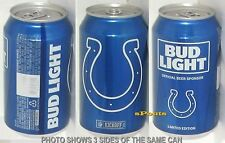 2016 INDIANAPOLIS COLTS BUD LIGHT NFL KICKOFF BEER CAN FOOTBALL SPORTS MAN CAVE