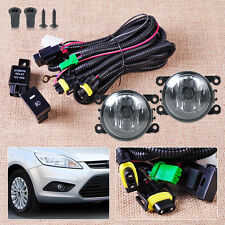 NEW Wiring Harness Sockets +Switch +2 H11 Fog Lights for Ford Focus Acura Nissan