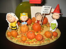 Halloween Hallmark Peanuts Linus and the Great Pumpkin Patch 5 pc. Set