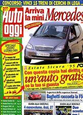 AUTO OGGI # Anno X - N.30 - 3 Agosto 1995 # A.Mondadori # Rivista settimanale