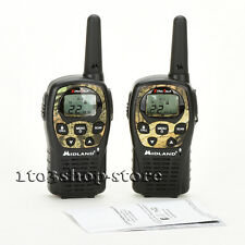 Midland LXT535 22 Channels 2-Way Radios Walkie Talkies Up To 24 Miles Camo/Black
