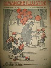 MARCHAND DE BALLON POULBOT RIKIKI CAMI BD BICOT BRANNER DIMANCHE ILLUSTRé 1937