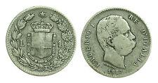 pci1622) Regno Umberto I Lire 1 Stemma 1887