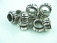 10 PCS/Lot Antique silver DIY Acrylic jewelry scarf rings slide accessory