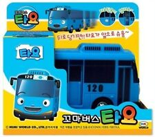 The Little Bus TAYO *TAYO* BLUE Korean Character Pull Back Car Diecast KIDS TOY