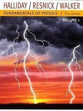 Fundamentals of Physics, 7th edition (Ch. 1 - 21) Volume 1, Halliday, Resnick...