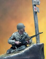 Pegaso Models 1:35 WWII U.S Ranger 1944 Resin Figure Model Kit #PT-037